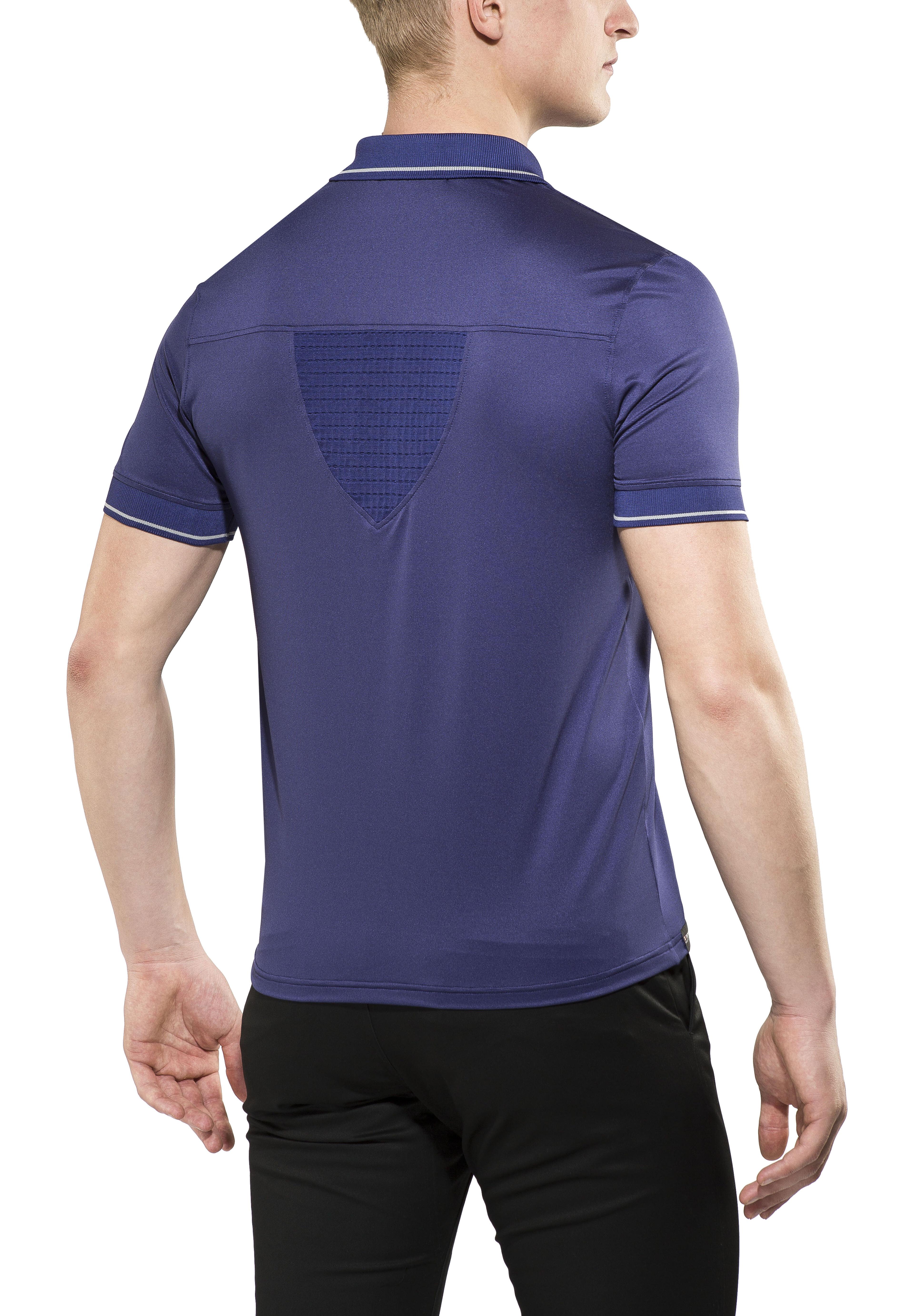 X-Bionic Travel Koszulka polo Mężczyźni, blue marine